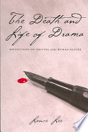 The Death and Life of Drama Book