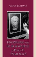 Pdf Knowledge and Self-Knowledge in Plato's Theaetetus Telecharger