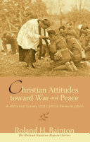 Christian Attitudes toward War and Peace
