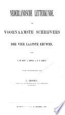 Nederlandsche letterkunde