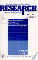 Meta-analysis of Drug Abuse Prevention Programs