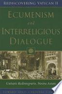 Ecumenism And Interreligious Dialogue