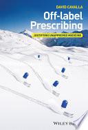 Off label Prescribing Book