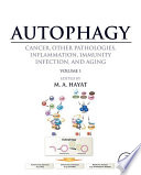 Autophagy  Cancer  Other Pathologies  Inflammation  Immunity  Infection  and Aging
