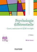 Pdf Psychologie différentielle - 5e éd. Telecharger