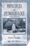 Principles of Hydrogeology  Third Edition