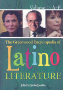 The Greenwood Encyclopedia of Latino Literature ebook