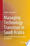 Managing Technology Transition in Saudi Arabia