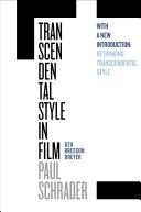 Transcendental Style in Film Pdf/ePub eBook