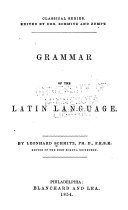 Pdf Grammar of the Latin Language