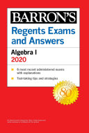 Regents Exams and Answers: Algebra I 2020