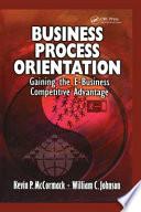 Business Process Orientation