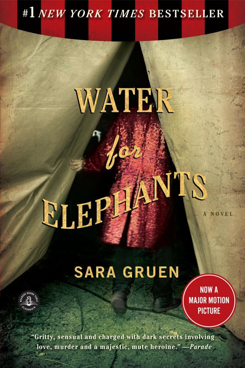 Water for Elephants banner backdrop