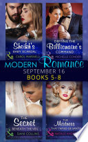 Modern Romance September 2016 Books 5 8 Book