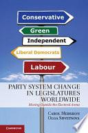 Party System Change In Legislatures Worldwide