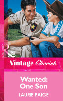 Wanted  One Son  Mills   Boon Vintage Cherish