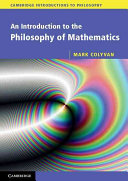 An Introduction to the Philosophy of Mathematics Book