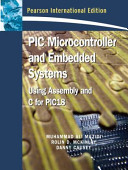 PIC Microcontroller and Embedded Systems Book
