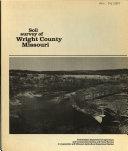 Soil Survey of Wright County  Missouri