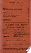 The Amateur Chess Magazine