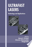 Ultrafast Lasers Book