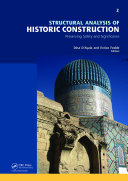 Structural Analysis of Historic Construction: Preserving Safety and Significance, Two Volume Set