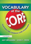 Vocabulary at the Core Pdf/ePub eBook