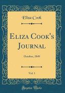Eliza Cook s Journal  Vol  1
