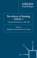 The History of Reading [Pdf/ePub] eBook