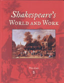 Shakespeare S World And Work