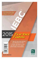 2015 International Existing Building Code Turbo Tabs Book
