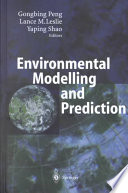 Environmental Modelling And Prediction Book PDF