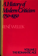 A History of Modern Criticism