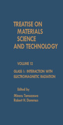 Glass I  Interaction with Electromagnetic Radiation