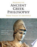 Readings in Ancient Greek Philosophy, From Thales to Aristotle by S. Marc Cohen,Patricia Curd,C. D. C. Reeve PDF