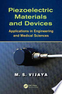 Piezoelectric Materials And Devices Book PDF