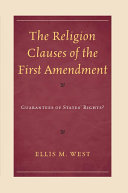 The Religion Clauses of the First Amendment [Pdf/ePub] eBook
