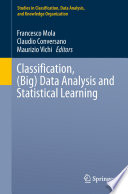 Classification   Big  Data Analysis and Statistical Learning