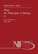 What the Philosophy of Biology Is