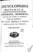 Encyclopedia metodica: geografia moderna, 2  : geografia moderna