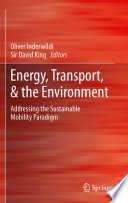 Energy, Transport, & the Environment
