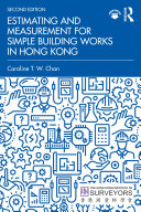 Pdf Estimating and Measurement for Simple Building Works in Hong Kong