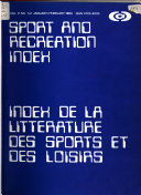 Index Des Sports Et de la Condition Physique