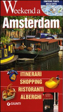 Guida Turistica Amsterdam. Itinerari, shopping, ristoranti, alberghi Immagine Copertina