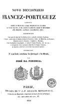 Novo diccionario francez-portuguez