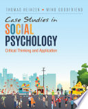 Case Studies in Social Psychology