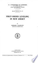 First order Leveling in New Jersey