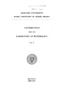 Contributions from the Laboratories