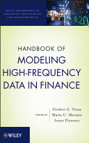 Handbook of Modeling High Frequency Data in Finance