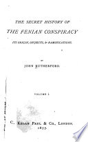 The Secret History of the Fenian Conspiracy Book